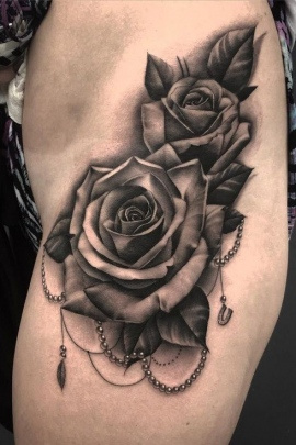90 Best Black Rose Tattoo Designs Meaning And Ideas For Girls Women And Men,Poorhouse Quilt Designs