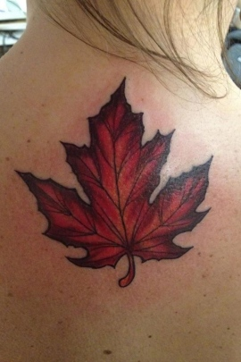 75 Best Japanese And Canadian Maple Leaf Tattoo Designs Meaning And Ideas