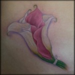 Calla Flower Tattoo