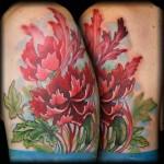 Carnation Flower Tattoo