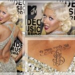 Christina Aguilera Tatoo