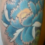 Chrysantemum Flower Tattoo