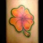 Clover Flower Tattoo