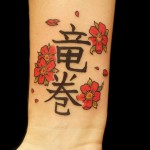 Japanese Camellia Flower Tattoo