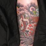 Oriental Style Tattoo