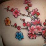 Red Sakura Tattoo