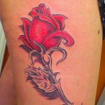 Rose Flower Tattoo