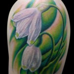 Snowdrop Flower Tattoo