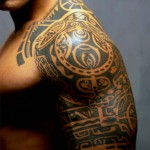 Tribal Style Tattoo