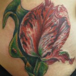 Tulip Flower Tattoo