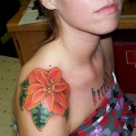 Bebonia Flower Tattoo