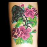 Geranium Flower Tattoo