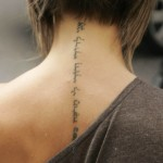 Inscription Tattoo