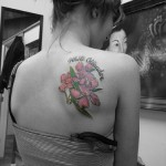 Oleander Flower Tattoo