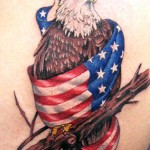 Patriot Eagle Tattoo