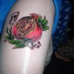 Pomegranate Tattoo
