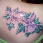 flower tattoo for taurus