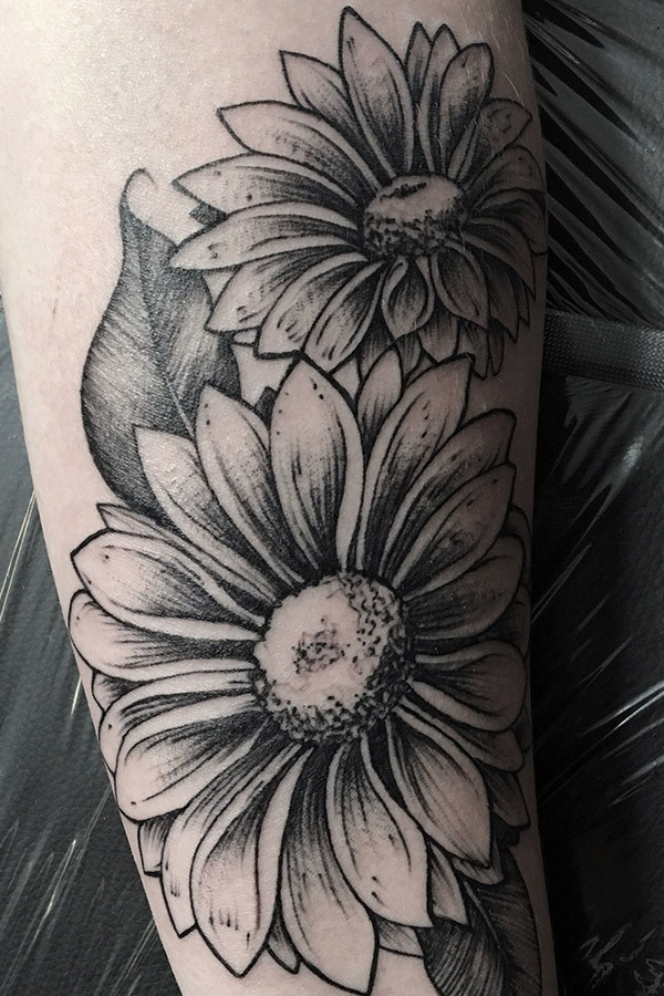 35 Best Aster Flower Tattoo Designs Meaning And Ideas For Girls And Men